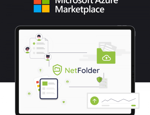 NetFolder for Secure file Uploads by odix is now available on the Microsoft Azure Marketplace